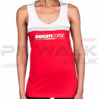 Ducati Corse Official Yoke Contrast Womens Red & White Tank Top Size XS, S, M, L