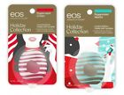 New Authentic eos Holiday Collection Lip Balm Peppermint Cream &Peppermint Mocha