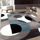 RUGSHOP Hot CIRCLES INDOOR SOFT AREA RUGS