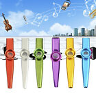 Fashion Metal Kazoo Harmonica Mouth Flute Kids Party Gift Musical Instrument Hot