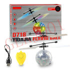 Magic Electric Infrared Sensor Flying Ball Helicopter LED Light Toy Kids +Remote
