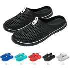 Men's Women's Breathable Slippers Hollow-out Beach Sandals Garden Hole Shoes US