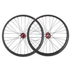 Carbon 26er 90mm Wide Snow Bike Wheelset Front 135x9mm Rear 9x190/197mm
