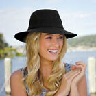 Womens Wallaroo 'Victoria Fedora' Sun Hat | 6 Colours | FREE Express P&P