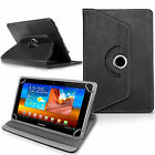 °New Rotating Folio Leather Case Cover For Android Tablet PC 7