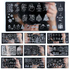 Fashion Christmas Nail Art Stamping Plate Image Stamp Template DIY Manicure Tool