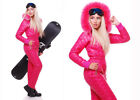 Women Winter Waterproof Ski Snowboard Outdoor Sport Wear Boiler Suit Jumpsuit #D