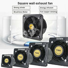 Wall-mounted Ventilation Extractor Exhaust Fan For Kitchen Bathroom Toilet 6-12'