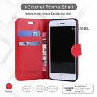 Red Flip Wallet Leather Book Case Cover For Apple Iphone 5C 5G 5S 6G 6S 7G 7PLUS