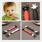 Cute Kids Cutlery Cartoon Flatware Mickey Mouse Cutlery Set Spoon + Fork Study