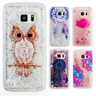 Cute Bling Sparkle Flowing Liquid Glitter Case Cover for Samsung Galaxy Note 8