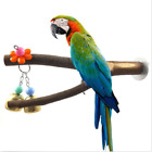 Pet Parrot Raw Wood Fork Stand Rack Toy Hamster Branch Perches for Bird Cage