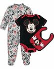 Disney Baby Boys' Mickey Mouse 3 Piece Layette Set