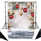 3x5FT/5x7FT Snow Christmas Glitter Backdrop Photography Background Studio Props