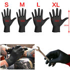 100 Pk Disposable Mechanic Gloves Black Nitrile Gloves Tattoo Glove Silicone
