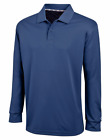 Champion Men's Ultimate Double Dry Long Sleeve Polo Premium Casual Golf Shirt