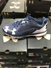 Under Armour Deception Trainer Men's Baseball Turf Shoes- Navy NEW