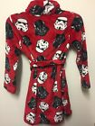 Star Wars Darth Vader & Storm Trooper Pajama Robe NWT Size 4, 6, 8, 10 Holidays! $12.5 USD