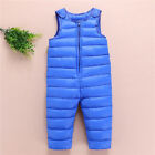 Winter Baby Boy Clothing Jumpsuit Toddler Thick Rompers Pants Keep Warm Bodysuit
