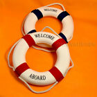 Lifebuoy Lifering Nautical Marine Home Office Room Welcome Aboard Decoration