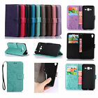 GY For Nokia Samsung Huawei Strap Embossing Leather Wallet Card Case Cover Skin