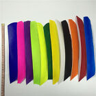 50pcs Multicolor Full length Fletches Feather Fletching RW