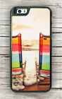 BEACH SUNSET CHAIRS CASE FOR iPHONE 8 or 8 PLUS -nbv4Z