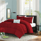 3pc Center Ruffle Duvet Set Egyptian Cotton Single/Double/King/Super/Emperor