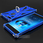 For iphone X /8 /7 Plus 6S 6 Durable Hybrid Armor Metal Aluminum Back Case Cover