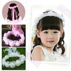 Girl Floral Flower Garland Hair Band Headband Wreath Headpiece Wedding Bridal