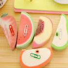 Cute Watermelon Fruit Shape Sticky Notes Bookmark Memo Sticker Pad Marker Gift