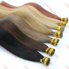 16-24inches Pre Bonded Stick/I Tip Remy Human Hair Extensions Straight 100S 50g