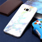 Rubber Ultra Slim Marble Pattern Soft TPU Case Cover for iPhone X/6/7/8 Plus
