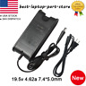 19.5V 4.62A 90W AC Adapter Charger Power Supply Cord for Dell Laptop Compute Lot