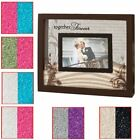 Wedding Ceremony Unity Photo Frame With 2 Different Coloured Sand