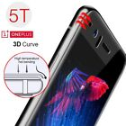 New For Oneplus 1+ 5T 5 3T 3D 9H Full Cover Tempered Glass Screen Protector Film