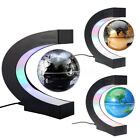Magnetic Levitation Floating Globe Map LED Light Home Desk Decor Educational Toy