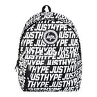 HYPE 'JUSTHYPE' BACKPACK IN BLACK AND WHITE *ONLY £22.99*