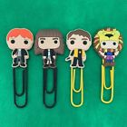 Harry Potter - Bobblehed Cartoon Bookmark Paperclip Hermoine - J K Rowling - NEW