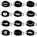 Variety Cotton Mouth Face Mask Cover Respirator Cycling Anti-Dust Anime Emoji US