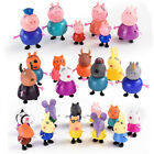 25 Pcs Peppa Family&Friends Pig Emily Rebecca Suzy Action Figures Toys Kids Gift