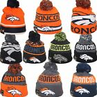 DENVER BRONCOS New Era Team Logo Winter Knit Beanie Hat Cap One Size Many Styles on eBay