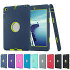 For iPad 2 3 4 & Mini 1 2 3 Shockproof Armor Military Heavy Duty Rubber Case New