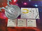 DECALS ONLY - NX REFIT ISS ENTERPRISE NX-01 Registry set!  - Star Trek EAGLEMOSS on eBay