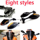 Motorcycle LED Mirrors For Yamaha YZF R6 1999-2009 R6S 2006-2009 R1 1998-2009 MT $34.99 USD on eBay