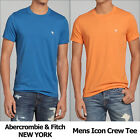 Abercrombie & Fitch Mens Icon Crew Tee New with Tag