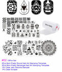 Born Pretty Nail Art Kits Stamping Plates Stamper Scraper Print Tools Collection