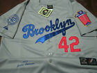 Brooklyn Dodgers Throwback 42 Jackie Robinson Majestic special edition Jersey