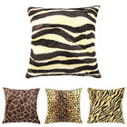 EP_ Animal Leopard Tiger Print Pillow Case Sofa Home Decor T