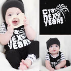 next baby boy clothes - Happy New Year Baby Boy Girl Cotton Romper Bodysuit Jumpsuit One-Piece Clothes